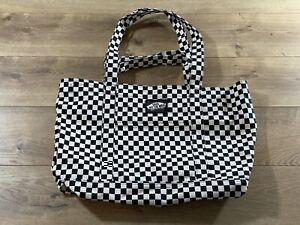 Vans Tell All Zip Tote Bag Checkerboard OSFA ( VN0A5I1K705 ) NEW!