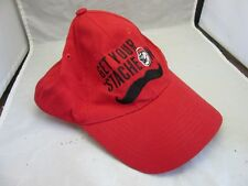 Cincinnati Reds baseball cap. Get your 'Stache on logo