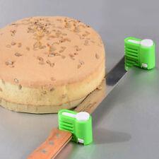 Fixator Gadget  Cake Pastry Bake Cutter Leveler Slicer  2x Kitchen DIY