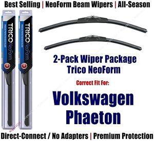 2pk Premium NeoForm Wipers fits 2004-2006 Volkswagen VW Phaeton 162412/2112