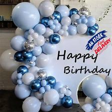 Blue Balloons+Balloon Arch Kit Set Party Baloons Wedding Garland Blue Decora AU/