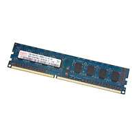 BARRETTE MÉMOIRE DE RAM HYNIX DDR3 1GO 1GB PC3 10600U 1RX8 1333MHZ PC ORDINATEUR