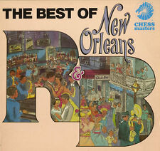 "The Best of New Orleans R & B 1984 LP 12"" 33rpm UK rare Chess Masters vinyl (f)"