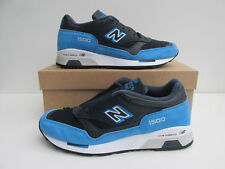 bnib NEW BALANCE 1500 EBN UK 10.5  Navy leather / Royal Blue Suede