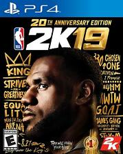 NBA 2K19 20th Anniversary Edition - Sony Playstation 4 PS4