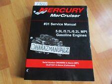 New Mercury Mercruiser Quicksilver Oem Part # 90-824052R 3 Sm O//B V6 135-225