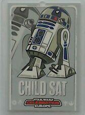 Star Wars Celebration Europe show pass 2007 Child Sat