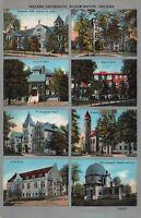 Postcard Multiple Views Indiana University in Bloomington, Indiana~124127