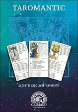 Jeu de tarot divinatoire Taromantic Grimaud, cartes en Français,neuf