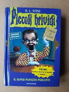"""Piccoli Brividi HARDCOVER #1 """"Il Super Pupazzo Parlante"""" R.L. Stine"""