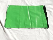 100 Green 7.5x 10.5 Flat Poly Mailers Shipping Postal Envelope Bags w/Self Seal