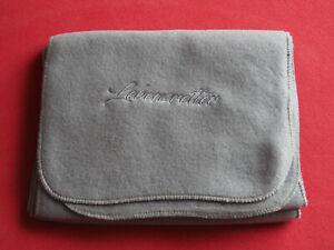 *grauer Fleece-Schal für Damen und Herren*leicht und weich*22,5x140 cm*NEU/OVP*