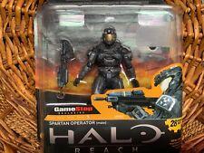 RARE & NIB 2011 MCFARLANE Halo Reach Operator Spartan GameStop exclusive