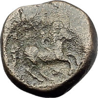 Philip II 359BC Olympic Games HORSE Race WIN Macedonia Ancient Greek Coin i64372