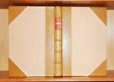 1854 OEUVRES DE FRANCOIS RABELAIS Ills Gustave Doré BOUND BY MORRELL