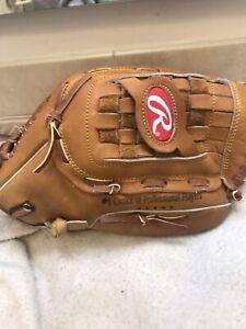 Rawlings RTD-51 BW Bernie Williams 13.5 Baseball Softball Glove Right Throw