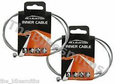 Pair Alligator Universal Brake Cable Road MTB 1700mm 1.6mm Bicycle Derailleur