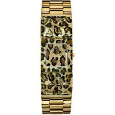 NEW AUTHENTIC GUESS Women Animal Print Bracelet Watch U0052L2 ,with Guess box