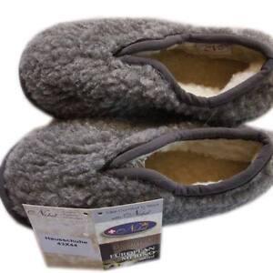 Herren Hausschuhe Pantoffeln 37 - 48 Wolle