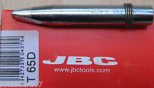 PUNTA T65D Soldador Estañador JBC Tools 65S 65ST ref 0650408 Soldadura de Estaño