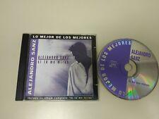 718- ALEJANDRO SANZ SI TU ME MIRAS CD POP 2002 10 TRACKS ENVIO ECONOMICO