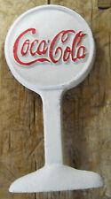 Coca Cola Advertising Cast Iron Door Stop Display Sign Antique Style