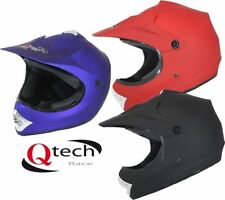 Unisex Youth Matt Off Road Helmets