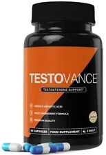 Testovance Testosterone Support Premium Quality 60 Capsules  FREE FAST Delive )