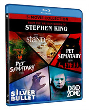 Stephen King 5 Movie Collection Pet Sematary Silver Bullet Dead Zone Blu-ray