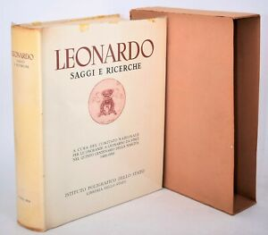 Arte Architettura Scienza - LEONARDO Saggi e Ricerche 1954 da Vinci Ed. numerata