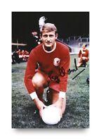 Roger Hunt Signed 6x4 Photo Liverpool England Genuine Autograph Memorabilia +COA