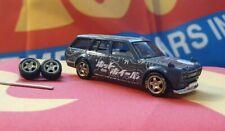 Bronze 1/64 T5 Rubber Wheels 5 Spoke Real Riders HotWheels Matchbox Honda Nissan