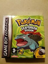 Nintendo Gameboy Advance Pokemon Leaf Green, Ruby, Sapphire, Red Rescue