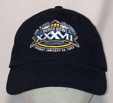 Super Bowl XXXVII 37 Hat NFL Football Raiders Buccaneers Baseball Cap T44 F8188