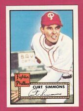 1952 Topps Reprint # 203 Curt Simmons - Philadelphia Phillies