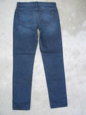 J Brand Aidan Boyfriend Jeans Straight Skinny Dark Distressed Sz 25 Run BIG