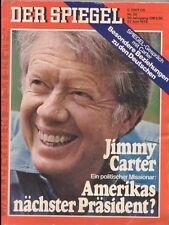 SPIEGEL 26/1976 Jimmy Carter, Präsidentschaftskandidat