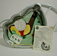 Wilton Tee It Up Golf Cake Pan Mold 2105-2032
