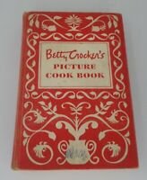 Betty Crocker's Picture Cookbook 1950 1st Edition 2nd Printing Hardcover Recipes