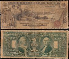 Circulated 1896 $1 EDUCATIONAL Silver Certificate! FREE SHIPPING! 44878695