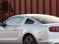 2010-2014 Mustang [10FM_QWF] Quarter Window Flag Decals