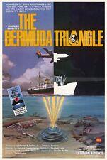 THE BERMUDA TRIANGLE Movie POSTER 27x40 Brad Crandall Donald Albee Lin Berlitz