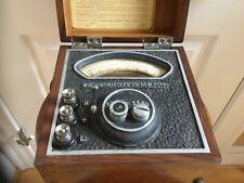 New listing Vintage Wilson Maeulen Indicator Tool scientific wooden oak box form 44 No1077