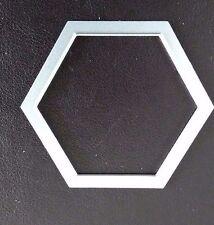 Sizzix Die Cutter HEXAGON SHAPE 4.25cm x 5cm  Thinlits fits Big Shot Cuttlebug