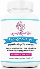 Lactation Supplement: Fenugreek Free with Goat's Rue Blessed and Milk Thistle