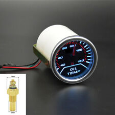 """2"""" Universal Analog Car LED Oil Temp Temperature Gauge Meter 40-150℃ 10MM Sensor"""