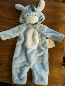 POTTERY BARN KIDS Eeyore Baby Costume 0-6 Mos. - NEW WITH TAGS!