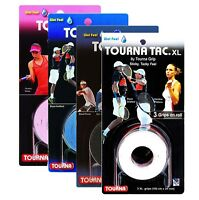 Tourna Tac XL Tennis Racket Overgrips - Wet Feel - 3 Pack - Badminton Squash