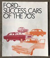 1970 Ford Range original New Zealand sales brochure