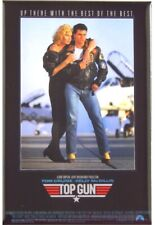 """ORIGINAL 1986 TOP GUN MOVIE POSTER Tom Cruise 17X24 """"Hand Out Poster"""""""